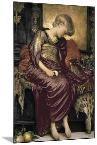 Kittens-Lord Frederic Leighton-Mounted Giclee Print