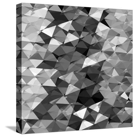 Geometric Squared II-Jan Tatum-Stretched Canvas Print