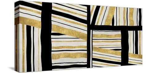 Intersect - Golden-Ellie Roberts-Stretched Canvas Print
