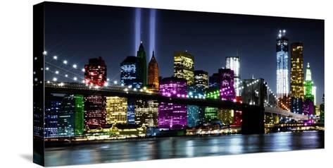 NYC In Living Color II-Carly Ames-Stretched Canvas Print