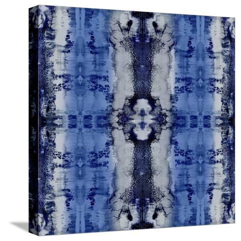 Patterns in Indigo-Ellie Roberts-Stretched Canvas Print