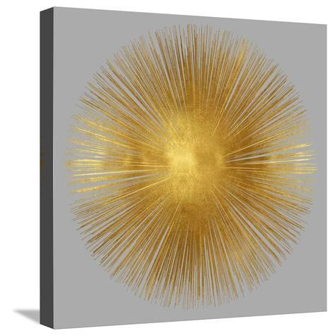 Sunburst on Grey I-Abby Young-Stretched Canvas Print