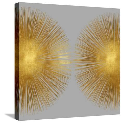 Sunburst on Grey II-Abby Young-Stretched Canvas Print