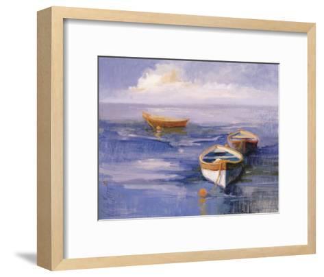 Resting Boats-Vicki Mcmurry-Framed Art Print