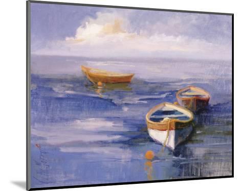 Resting Boats-Vicki Mcmurry-Mounted Art Print