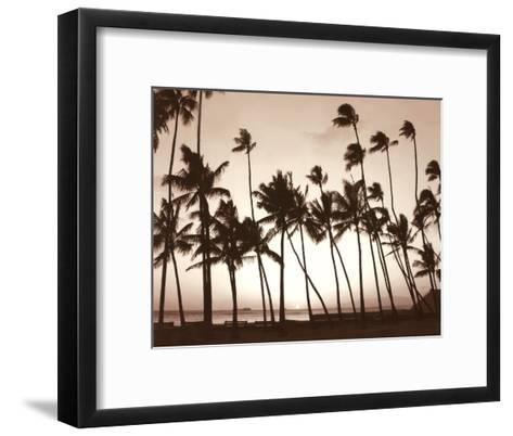 Platinum Palms I-Michael Neubauer-Framed Art Print