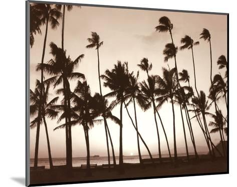 Platinum Palms I-Michael Neubauer-Mounted Art Print