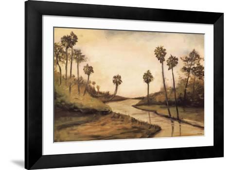 Palmetto Cove-Mark Pulliam-Framed Art Print
