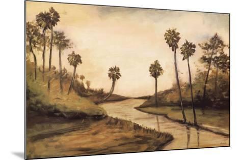 Palmetto Cove-Mark Pulliam-Mounted Art Print
