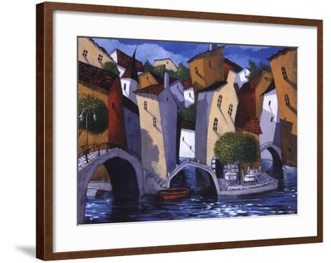 Three Bridges-Miguel Freitas-Framed Art Print