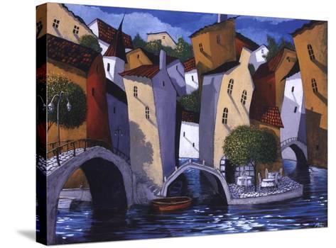 Three Bridges-Miguel Freitas-Stretched Canvas Print