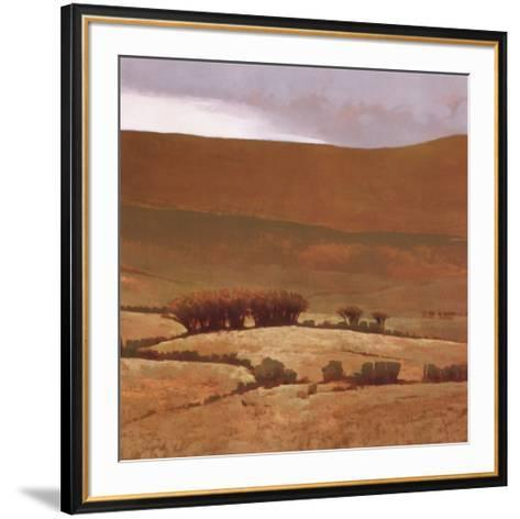 Toward the Hill-Marcus Bohne-Framed Art Print