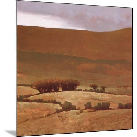 Toward the Hill-Marcus Bohne-Mounted Art Print