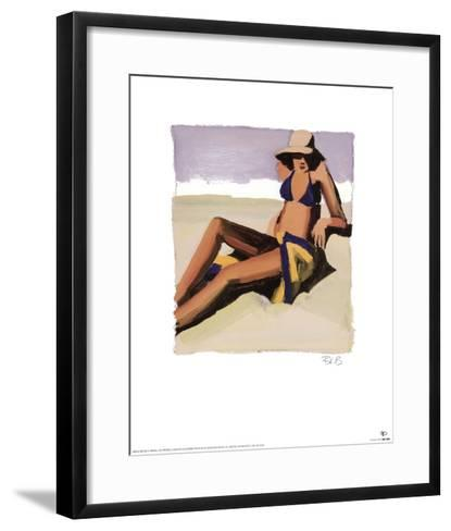 San Tropez II-Brenda K^ Bredvik-Framed Art Print