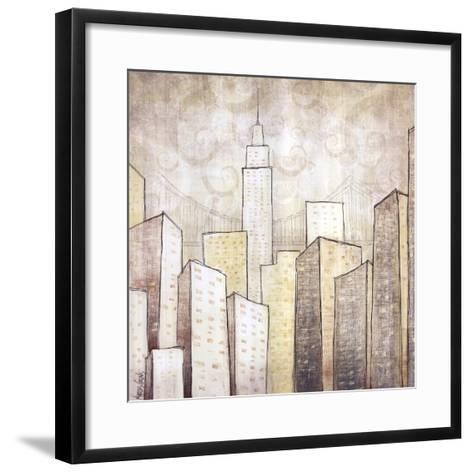 Urban Monograph II-Marcus Collins-Framed Art Print