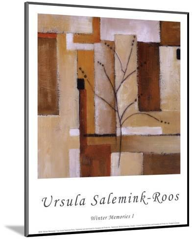 Winter Memories I-Ursula Salemink-Roos-Mounted Art Print