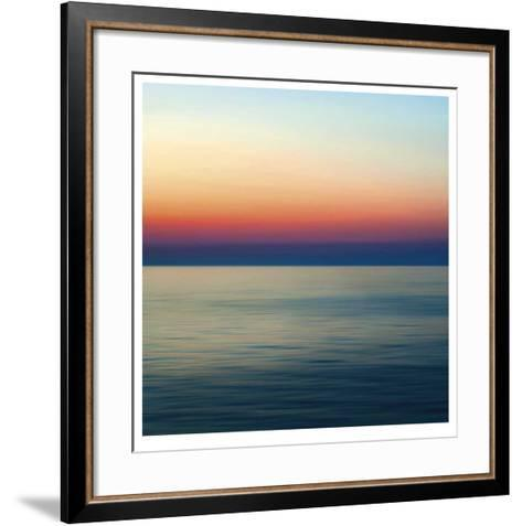 Colorful Horizons II-John Rehner-Framed Art Print