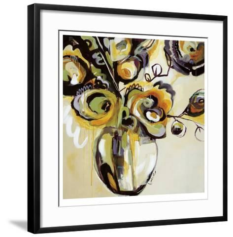 Blooming Plumes-Angela Maritz-Framed Art Print