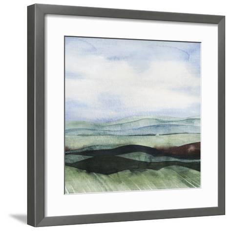 Jeweltone Ridges I-Grace Popp-Framed Art Print