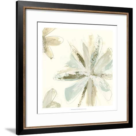 Floral Impasto II-June Erica Vess-Framed Art Print