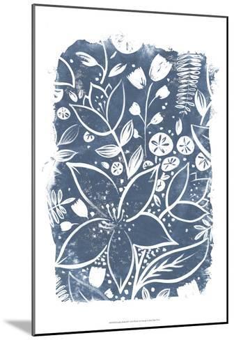 Garden Batik II-June Erica Vess-Mounted Art Print
