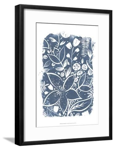 Garden Batik II-June Erica Vess-Framed Art Print