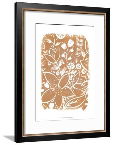 Garden Batik VI-June Erica Vess-Framed Art Print