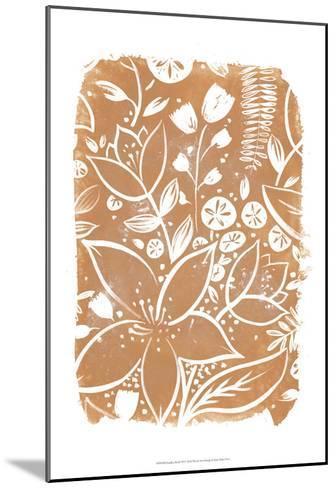 Garden Batik VI-June Erica Vess-Mounted Art Print