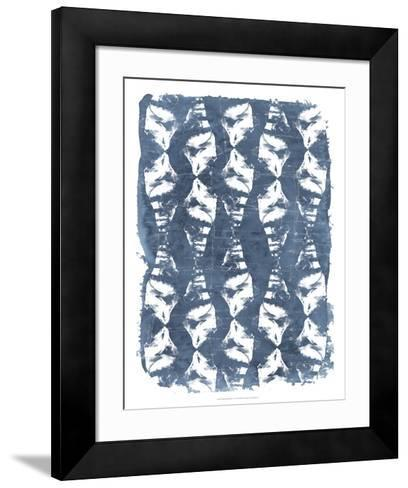 Batik Shell Patterns IV-June Erica Vess-Framed Art Print