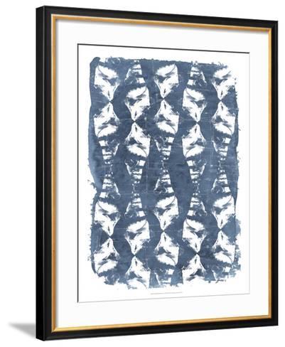 Batik Shell Patterns IV-June Erica Vess-Framed Art Print