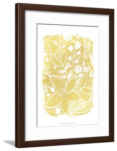 Garden Batik X-June Erica Vess-Framed Art Print