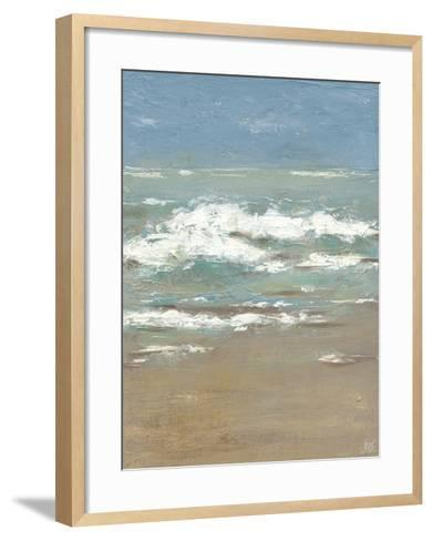 Waves I-Jade Reynolds-Framed Art Print