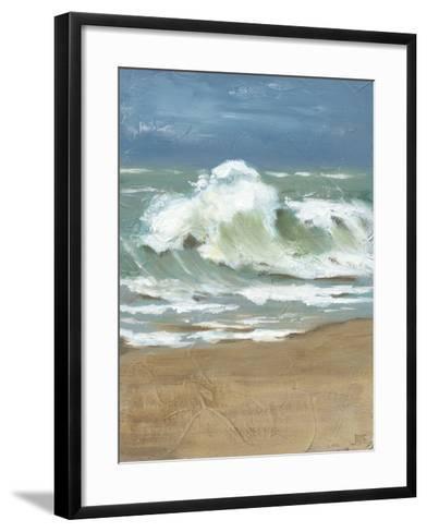 Waves II-Jade Reynolds-Framed Art Print