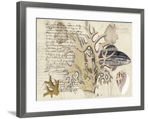Sealife Journal IV-Vision Studio-Framed Art Print