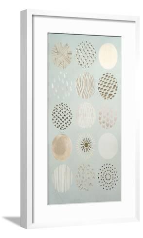 Metallic Foil Playful Patterns I-June Erica Vess-Framed Art Print