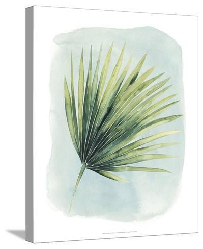 Paradise Palm Leaves II-Grace Popp-Stretched Canvas Print