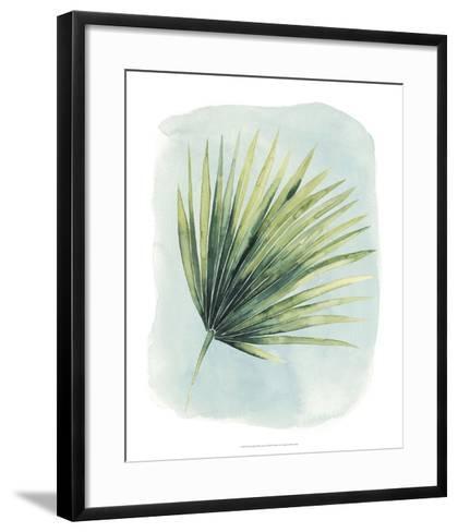 Paradise Palm Leaves II-Grace Popp-Framed Art Print