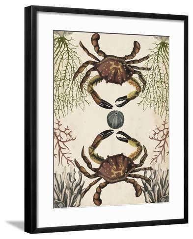 Antiquarian Menagerie - Crab-Naomi McCavitt-Framed Art Print
