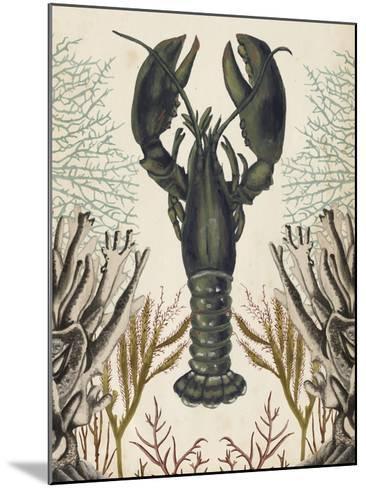 Antiquarian Menagerie - Lobster-Naomi McCavitt-Mounted Giclee Print