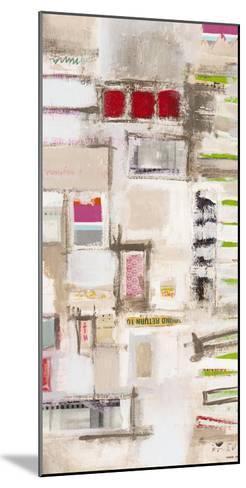 Plans Four II-Nikki Galapon-Mounted Art Print
