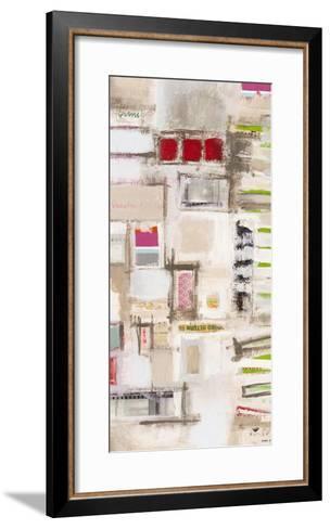 Plans Four II-Nikki Galapon-Framed Art Print