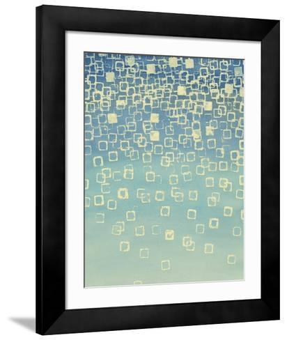Faded Axioms I-Vanna Lam-Framed Art Print
