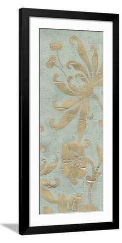 Graceful Garden Triptych II-June Erica Vess-Framed Art Print