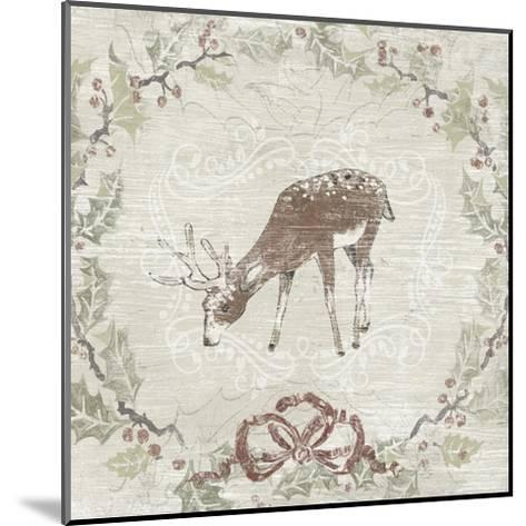 Cabin Christmas VI-June Erica Vess-Mounted Art Print