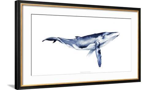 Whale Portrait I-Grace Popp-Framed Art Print