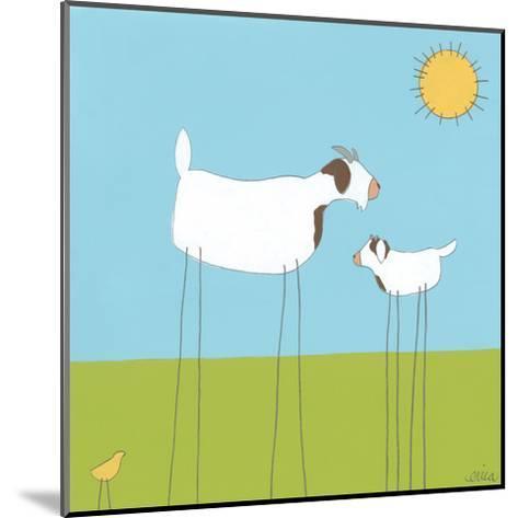 Stick-leg Goat I-June Erica Vess-Mounted Art Print