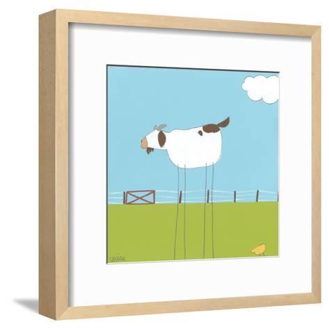 Stick-leg Goat II-June Erica Vess-Framed Art Print