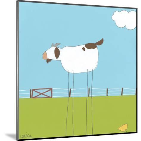 Stick-leg Goat II-June Erica Vess-Mounted Art Print