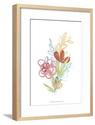 Flora Moderne III-June Erica Vess-Framed Art Print