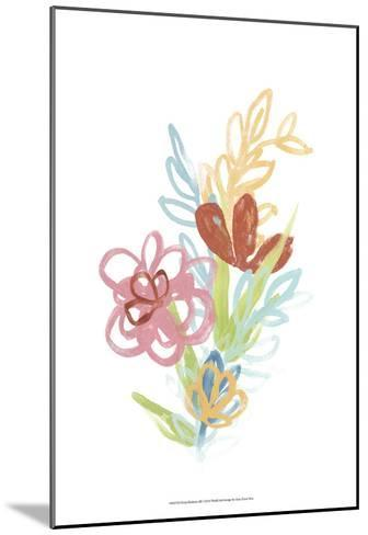 Flora Moderne III-June Erica Vess-Mounted Art Print